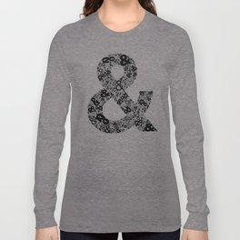 Helvetica Ampersand Long Sleeve T-shirt