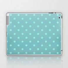 Polka Party Teal Laptop & iPad Skin