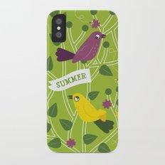 4 Seasons - Summer iPhone X Slim Case