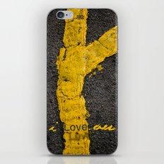 I love you. iPhone & iPod Skin