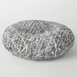 Spider Web Inverted Floor Pillow
