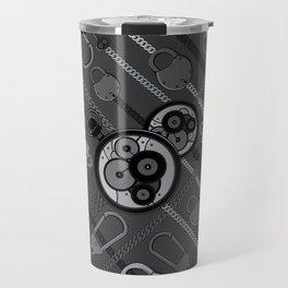 Locks & Chains Scarf Print Travel Mug