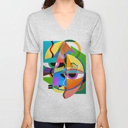 Picasso's Child Unisex V-Neck