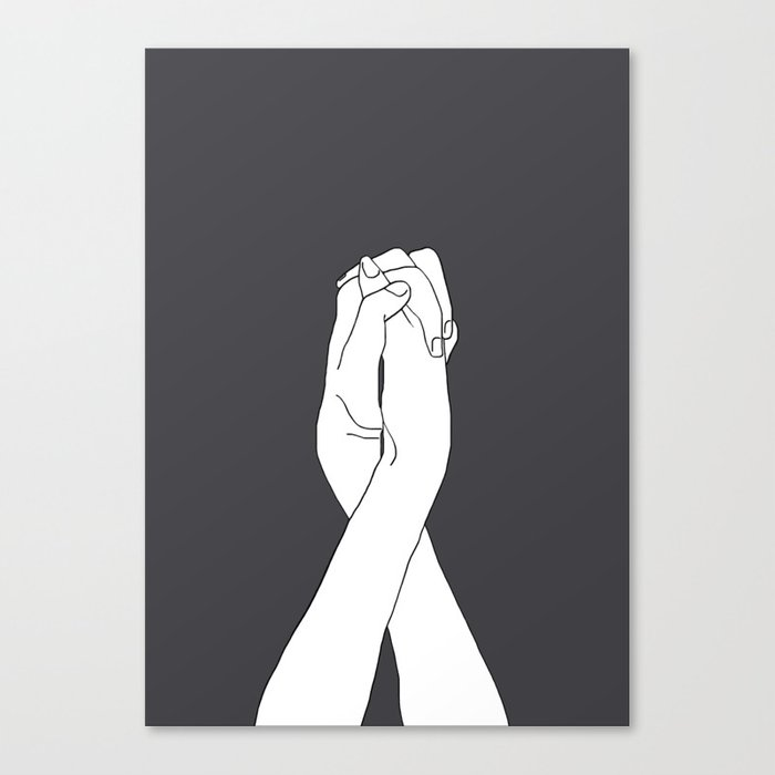 Never Let Me Go III Canvas Print