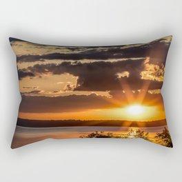Another Fish Hook Lake sunrise Rectangular Pillow