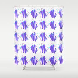its a vibe Shower Curtain