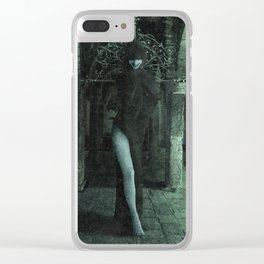 The Crypt Dancer Clear iPhone Case
