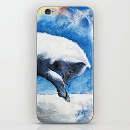 Animal - Antoine the Artic Fox - by LiliFlore iPhone Skin