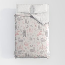 Woodland Forest Animals Comforters