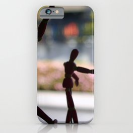 Wooden Puppet iPhone Case