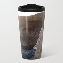 The Azure Window of Dwejra Metal Travel Mug