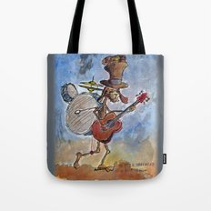 ONE MAN BAND Tote Bag