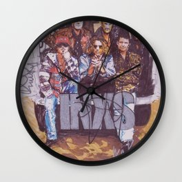 INXS Wall Clock
