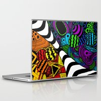 zentangle Laptop & iPad Skins featuring Zentangle by Grace Thanda