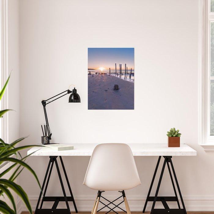 Port Willunga Sunset Poster