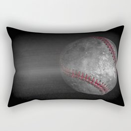 Baseball Vintage Print Rectangular Pillow