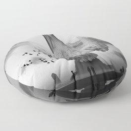 Sea Bird Free Bird Floor Pillow