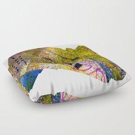 Wiggle Worm Floor Pillow