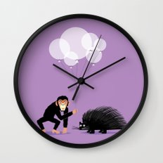 The Inappropriate Gift  (colour variation) Wall Clock