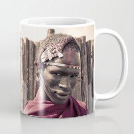 Maasai Warrior Ngorongoro 4117 Coffee Mug