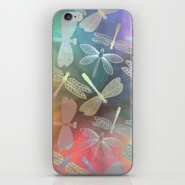 Dragonfly Dance iPhone Skin