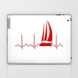 Sailing Heartbeat Laptop & iPad Skin
