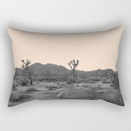 Joshua Tree in Nude Rectangular Pillow