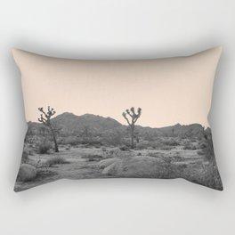 Joshua Tree in Nude Rectangular Pillow