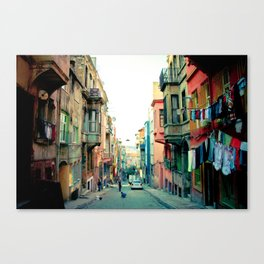 Istanbul colors Canvas Print
