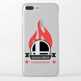 Smash community Clear iPhone Case