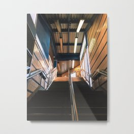 sunrise at girard station Metal Print
