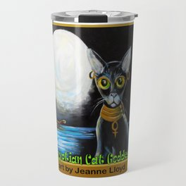 Egyptian Cat Goddess Travel Mug