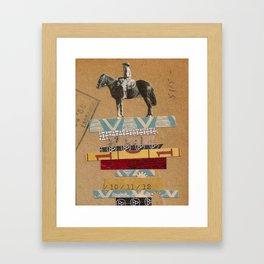 Higher Ground- Sam Framed Art Print