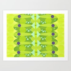 Chinese fish Art Print