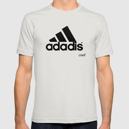 ADADIS ADIDAS .. COOL .. FOR LIGHT COLOURED T-SHIRTS CLOTHING T-shirt