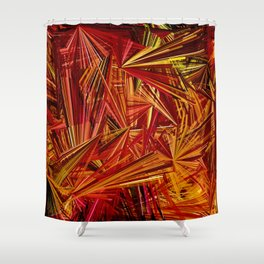 Needle in A Haystack Shower Curtain