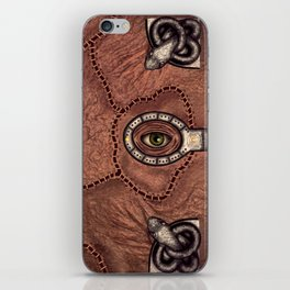 The spell book iPhone Skin
