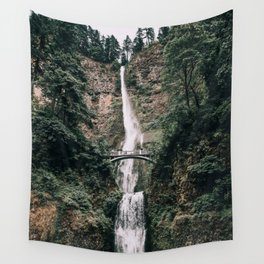 Multnomah Falls III / Oregon Wall Tapestry