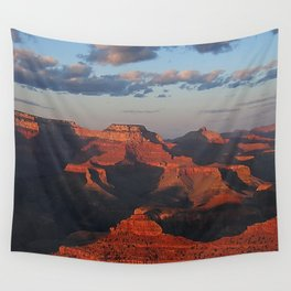 Grand Canyon Sunset Colors Wall Tapestry