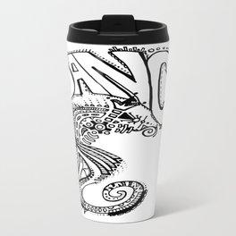 """Ocean Dancer""  Travel Mug"