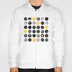 Dots / Yellow & Black Hoody