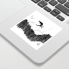 Night Jumps Sticker