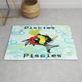 Pisces Astrology Sign Rug