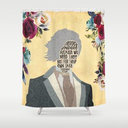 Jem Carstairs - Clockwork Angel Shower Curtain