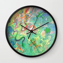Lizards O' My Wall Clock