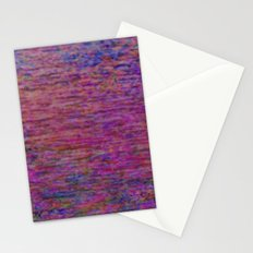 23-02-45 (Pink Lady Glitch) Stationery Cards