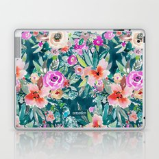 WOOT Tropical Watercolor Floral Laptop & iPad Skin