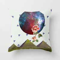oriental Throw Pillows featuring Oriental by Nasaém