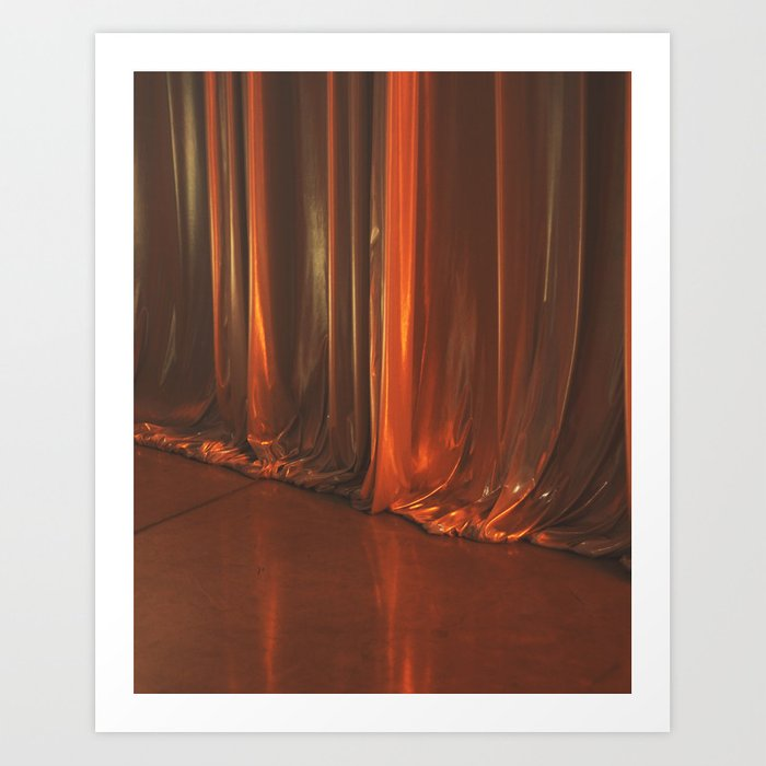 Curtain, 2016 Art Print