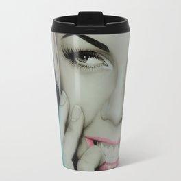 'Pink II' Travel Mug